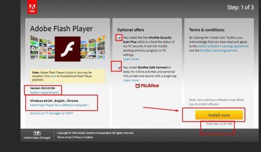 تحميل برنامج فلاش بلاير للمتصفح