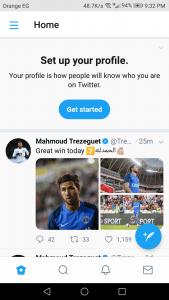 تحميل تويتر للموبيل