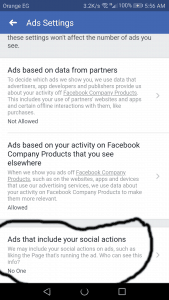 إخفاء تعليقاتك على الفيس بوك