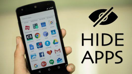 شرح برنامج اخفاء التطبيقات