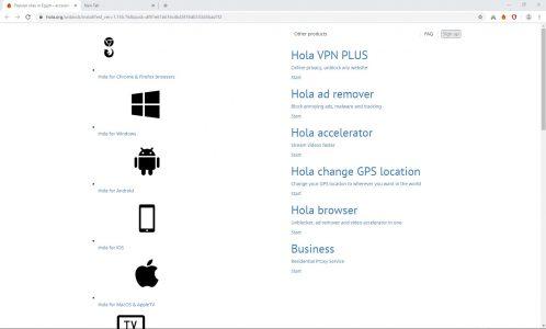 شرح كيفية تثبيت إضافة Hola VPN على جوجل كروم