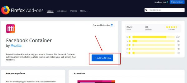 طريقة منع فيسبوك من تتبع نشاطك