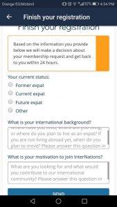 تنزيل تطبيق InterNations