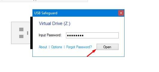 مميزات برنامج USB Safeguard