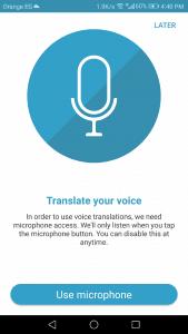 تنزيل تطبيق ترجمة صوتية فورية