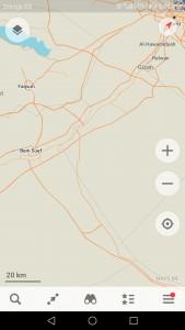 تطبيق خرائط بدون إنترنت الأفضل