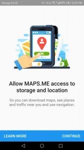 تطبيق خرائط بدون إنترنت رائع
