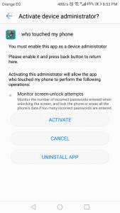تنزيل تطبيق who tried to unlock my phone