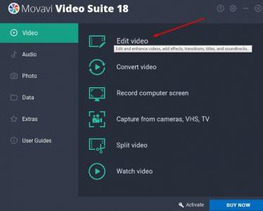 برنامج Video Suite
