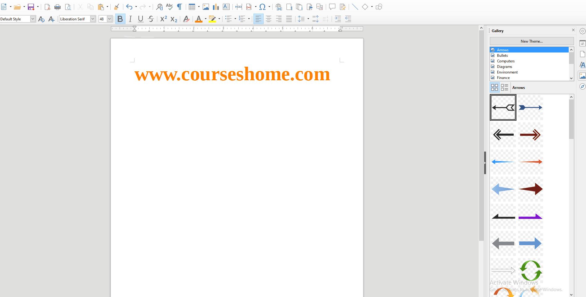 تحميل برنامج LibreOffice بالصور