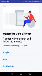 تحميل متصفح Cake Web Browser