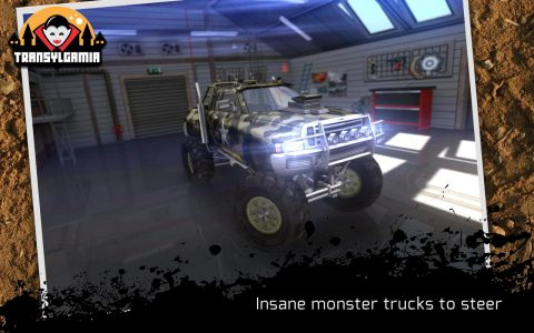 لعبة Insane Monster Truck Racing