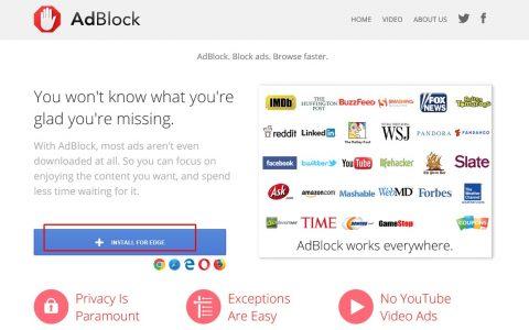 تحميل برنامج AdBlock