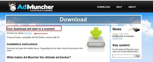تحميل برنامج AdMuncher