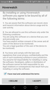 تحميل تطبيق Hoverwatch