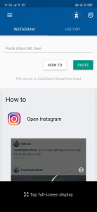 تطبيق Video downloader for intagram