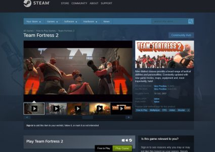 لعبة team fortress