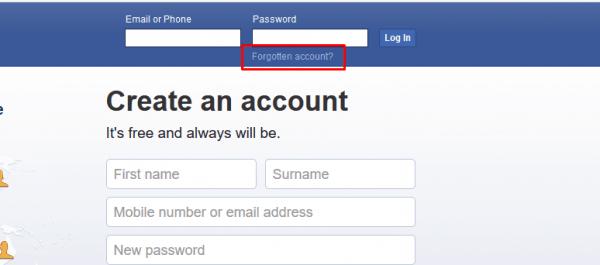 معرفة ايميل الفيس بوك عن طريق رقم الجوال