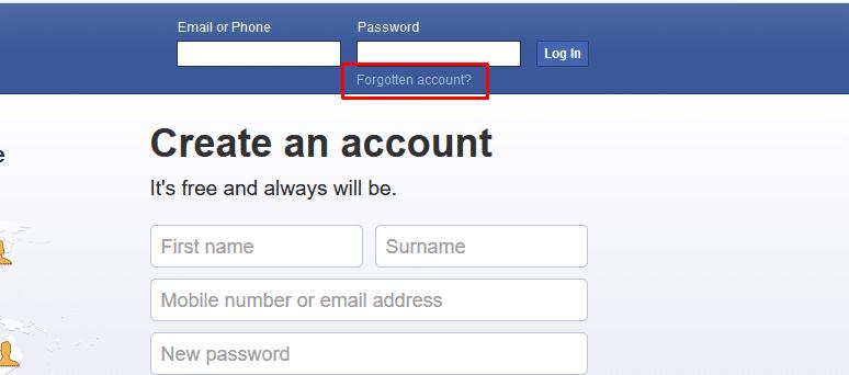 البحث عن حساب فيس بوك عن طريق رقم الهاتف