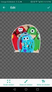 مميزات تطبيق Sticker Studio