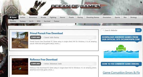 موقع Ocean of Games