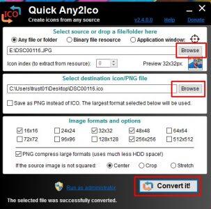 تحميل برنامج Quick Any2Ico