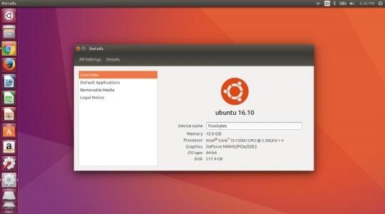 توزيعة Linux ubuntu