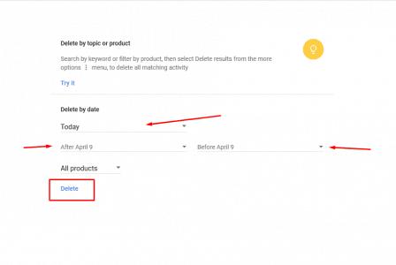 كيفية ازالة سجلات البحث من جوجل