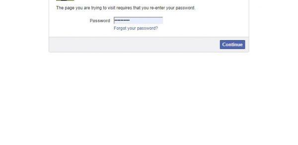 كيفية عمل Deactivate للفيس بوك