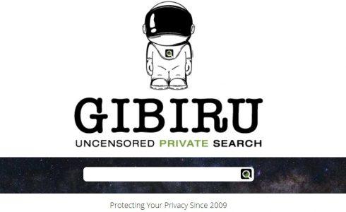 محرك بحث Gibiru.com