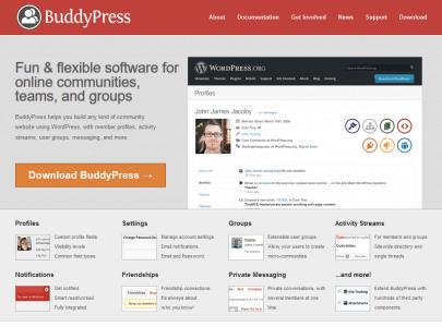 موقع Buddy Press