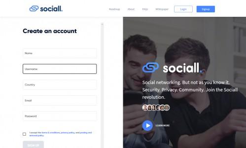 موقع sociall