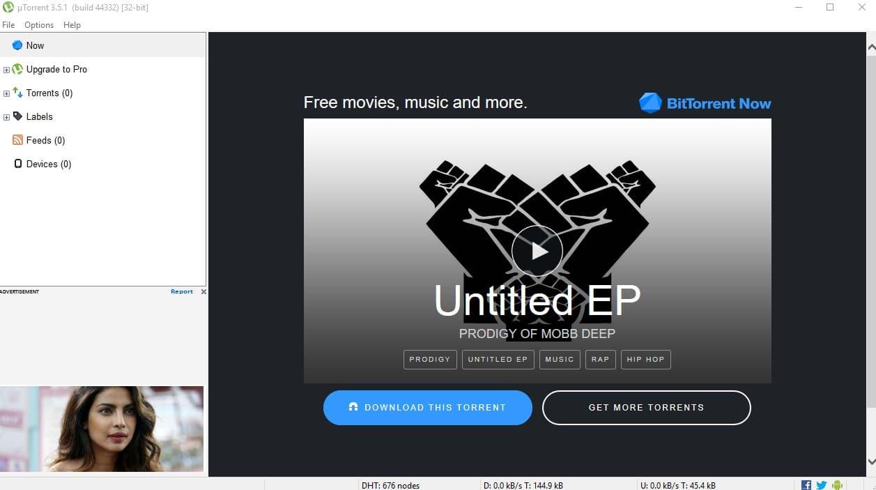 تحميل برنامج UTorrent For PC