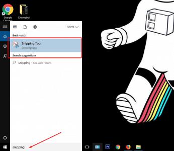 طريقة اخذ سكرين شوت لشاشة الكمبيوتر