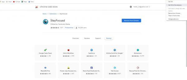 كيف تأخذ نسخة إحتياطية من إضافات جوجل كروم