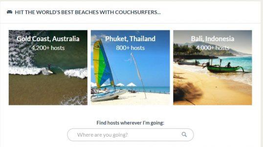 موقع Couchsurfing
