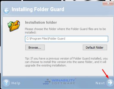 برنامج قفل ملفات الكمبيوتر