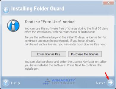 برنامج Folder Guard لقفل الملفات