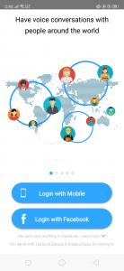 تثبيت تطبيق Opentalk
