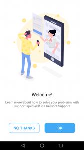 تطبيق مشاركة شاشة هاتف الاندرويد