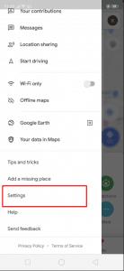 طريقة ايقاف اشعارات خرائط جوجل