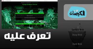 مواقع الإنترنت المظلم