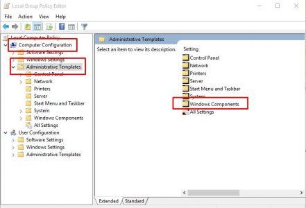 إيقاف تشغيل جدار حماية Windows Defender