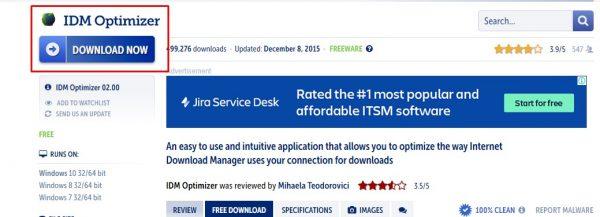 تحميل أداة IDM Optimizer