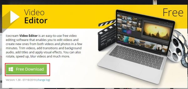 تحميل برنامج إنشاء مقاطع لليوتيوب