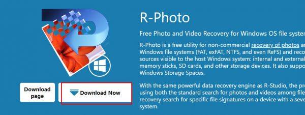تحميل برنامج استعادة الصور