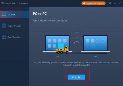 نقل ملفات من كمبيوتر لكمبيوتر