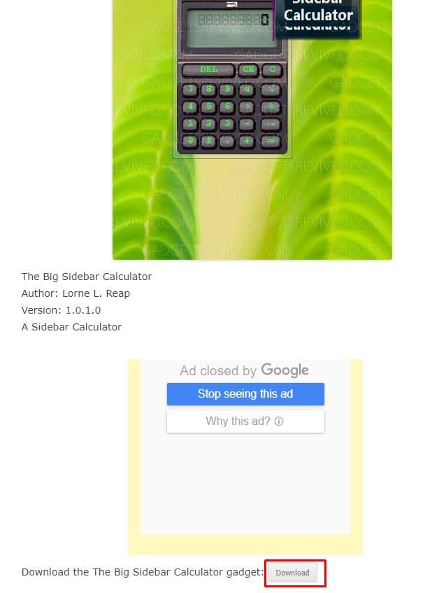 تحميل ادوات ذكية لسطح المكتب ويندوز 7