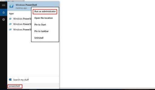 حذف برامج ويندوز 10 الأساسية