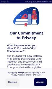 خدمة WARB VPN